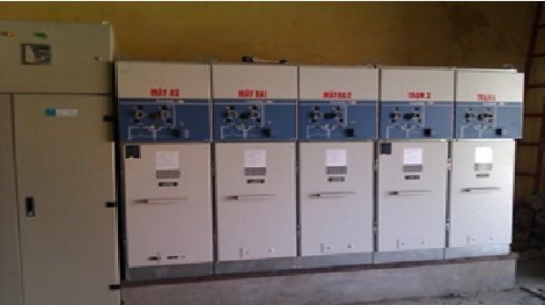 Thi công lắp đặt công trình hệ thống cấp điện