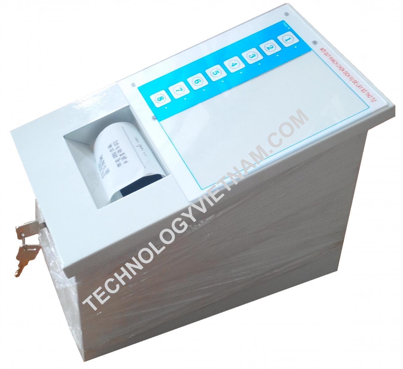 Điểm cấp vé cảm ứng điện dung (PR-1501PB)