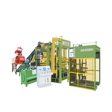 Dây chuyền sản xuất gạch không nung QTY8-15C