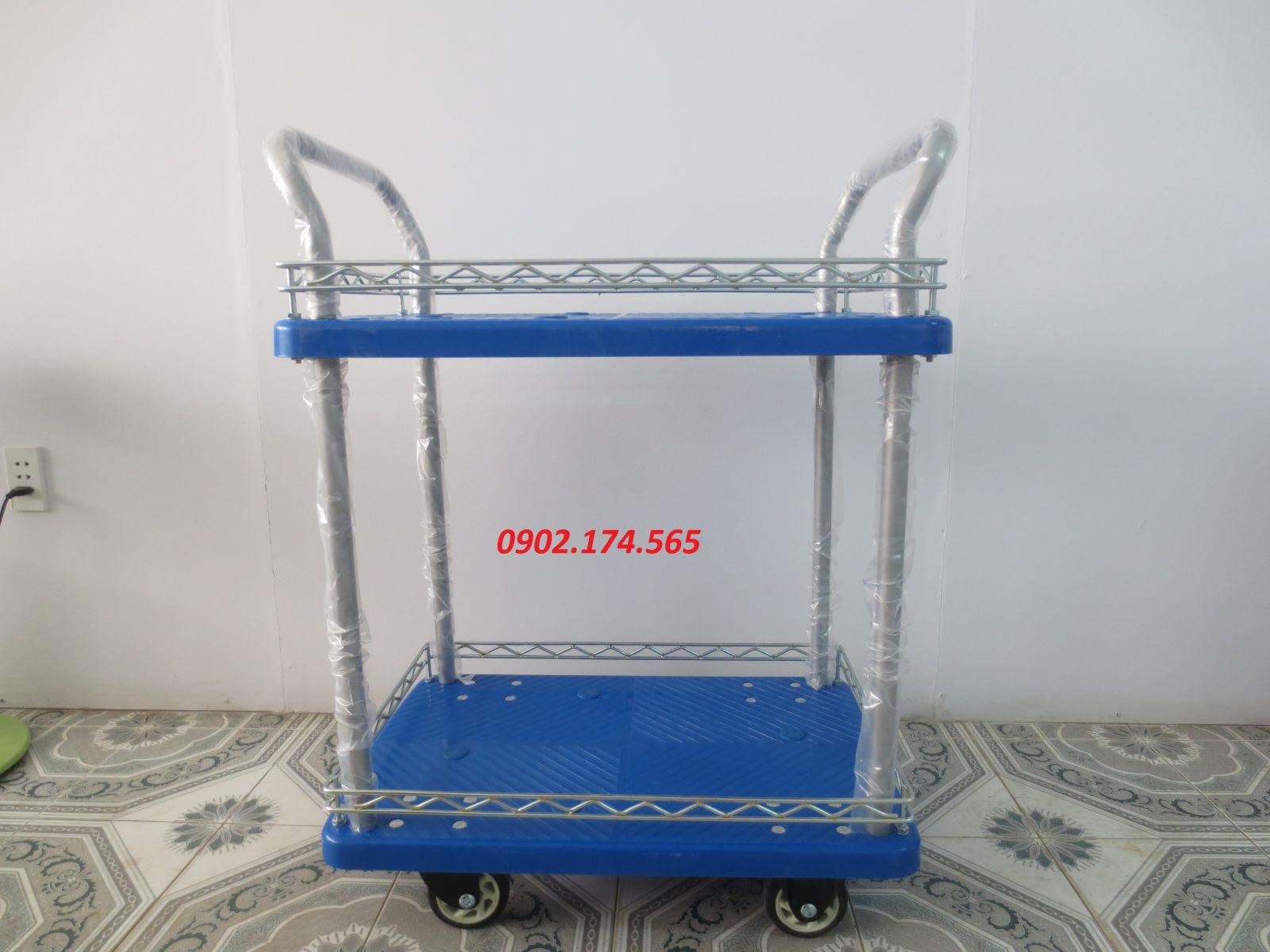 Xe đẩy sàn nhựa 2 tầng FD150-T2