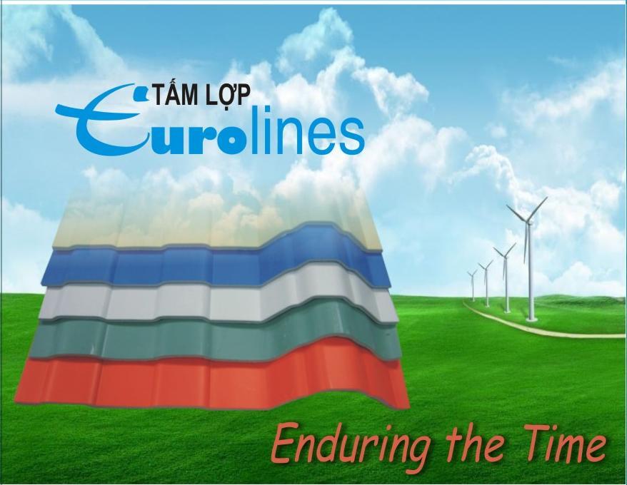 Tấm lợp Eurolines siêu bền chống ăn mòn hóa chất