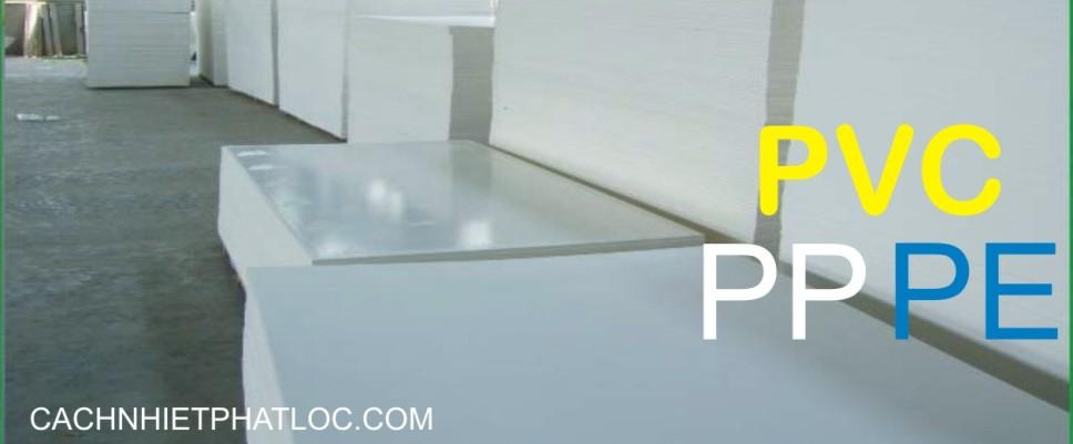 Thớt công nghiệp làm từ tấm nhựa PP, PE