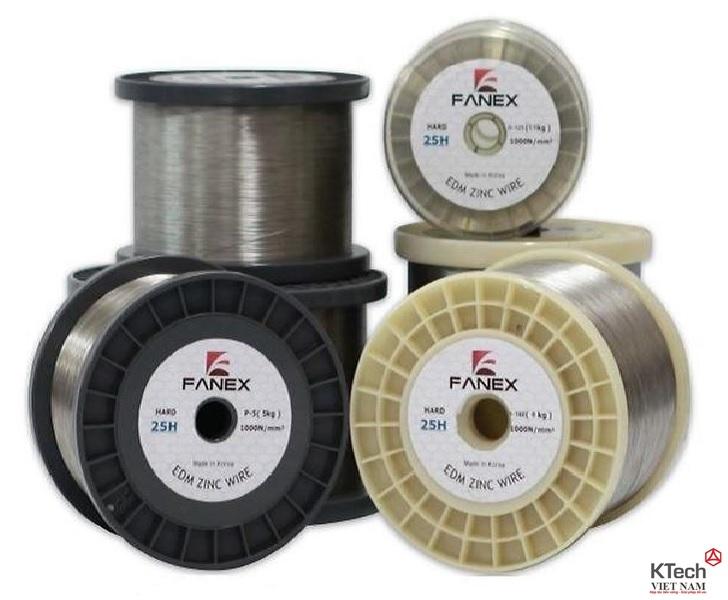 Dây đồng cho máy cắt dây HDB-10H,HDB-15H,HDB-20H,HBD-25H,HDB-30H (FANEX-korea)