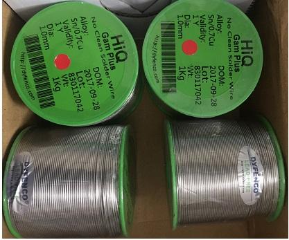 DYFENCO -Thiếc hàn không chì - Sn99%Ag0.3%Cu0.7%