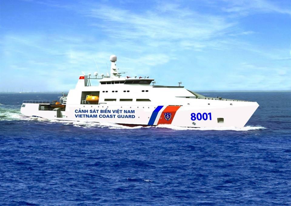 Tàu CSB 8001(DN2000)