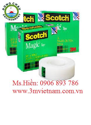 Băng keo kì diệu Scotch Magic 3M 810 trong suốt có thể viết lên được