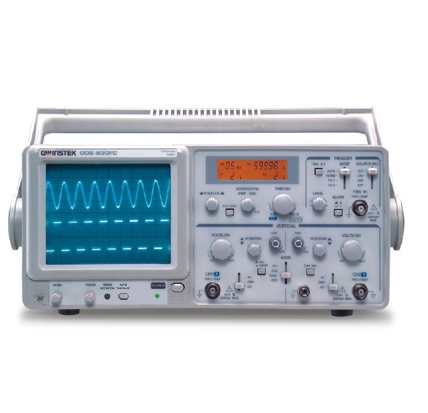 Máy hiện sóng số thời gian thực Model GOS 600 Series