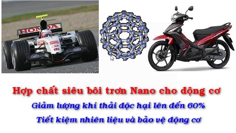 TD Eco Nano Lube  -  Hợp chất siêu bôi trơn Nano