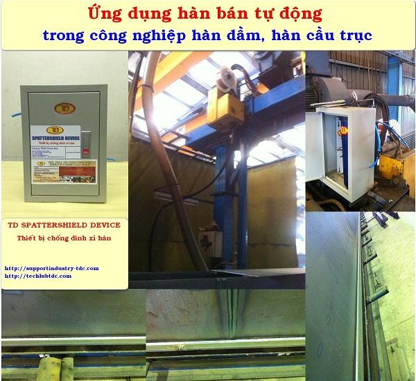 Dầu và thiết bị chống dính xỉ hàn - TD OIL WELDING