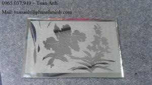 Dịch vụ khắc in chữ, hình ảnh, logo, hoa văn lên mica, nhựa