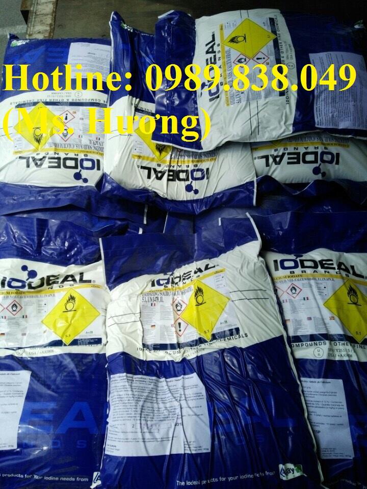 Calcium Iodate - Ca(IO3)2 bổ sung iot trong thức ăn chăn nuôi