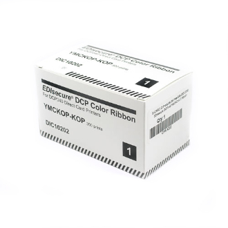 Ruy băng màu máy in thẻ nhựa EDISecure - DCP 204 (DIC 10201)