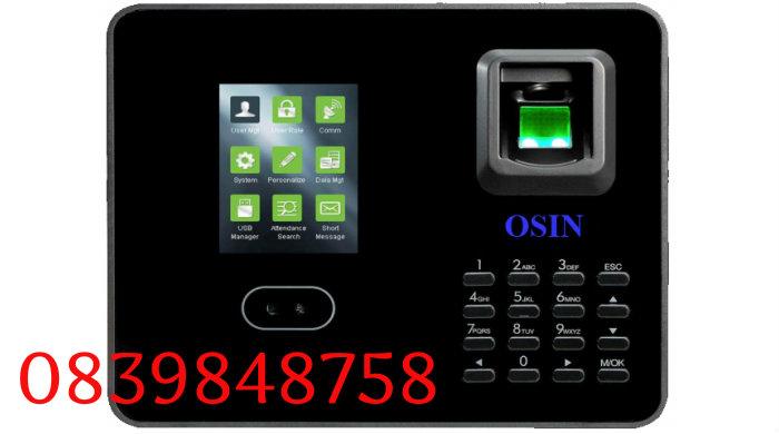 Máy chấm công nhận dạng khuôn mặt và vân tay OSIN O-215