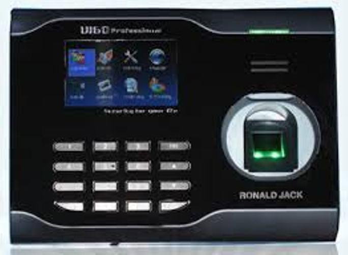 Máy chấm công vân tay Ronald Jack U160C kết nối Wifi