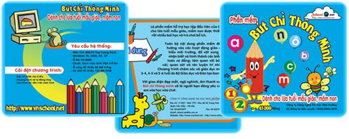 Bút chì thông minh- phần mềm giáo dục đầu tiên của việt nam dành cho lứa tuổi mẫu giáo, mầm non