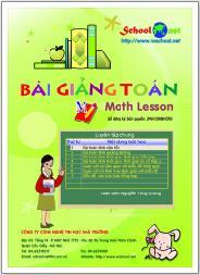 Bài giảng toán - math lesson
