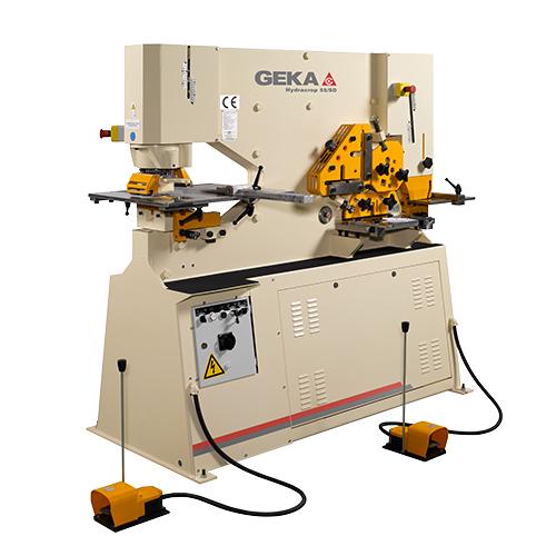 Máy đột cắt thủy lực GEKA