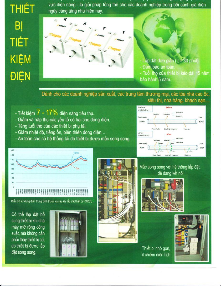 Thiết bị tiết kiệm điện ENPOSS- Hàn Quốc