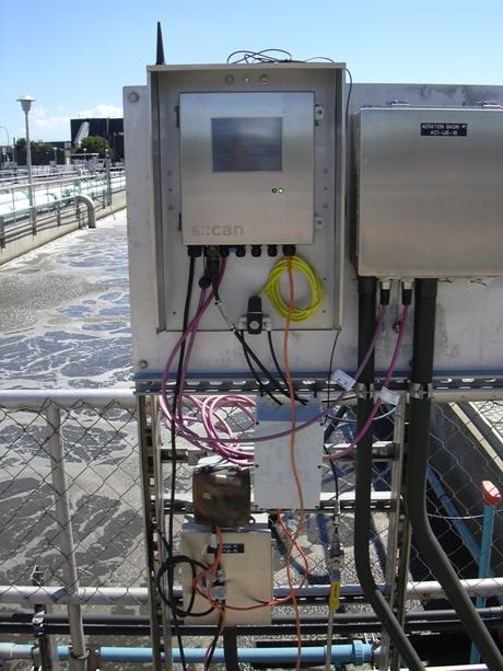 Trạm quan trắc nước tự động
