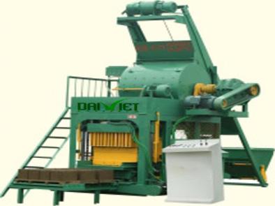 Máy sản xuất gạch block