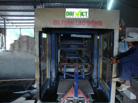 Dây chuyền sản xuất gạch block