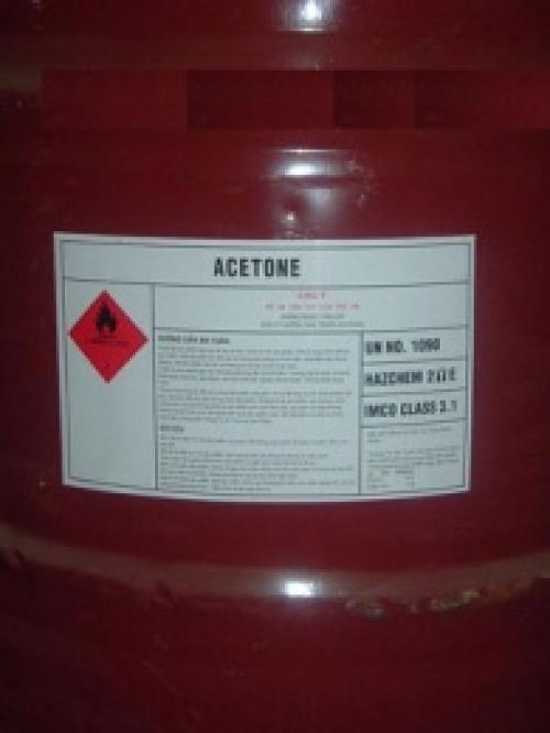 Hóa chất Acetone - CH3COCH3