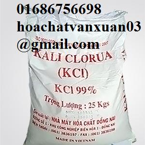 Kali clorua - KCl (phân bón KCl)