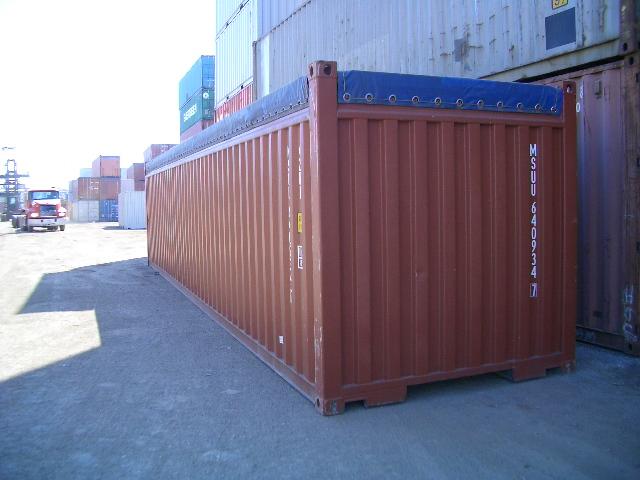 Dịch vụ vận chuyển hàng bằng container Opentop