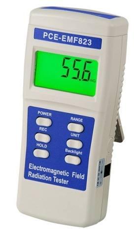 Máy đo, phát hiện điện từ trường PCE-EMF 823
