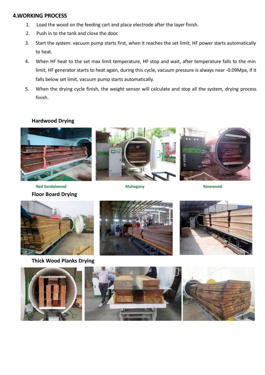 Máy sấy gỗ SAGA