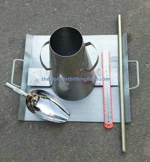 Dụng cụ đo độ sụt bê tông