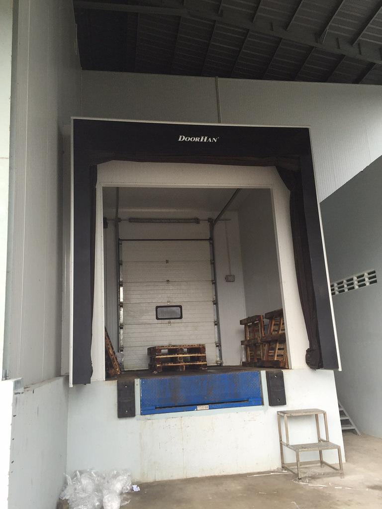 Bộ trùm túi khí Dock Shelter DoorHan