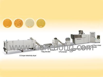 Dây chuyền sản xuất bột chiên xù
