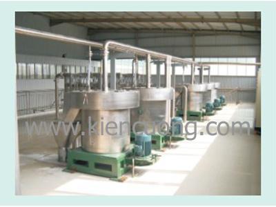Dây chuyền công nghiệp sản xuất tinh bột sắn
