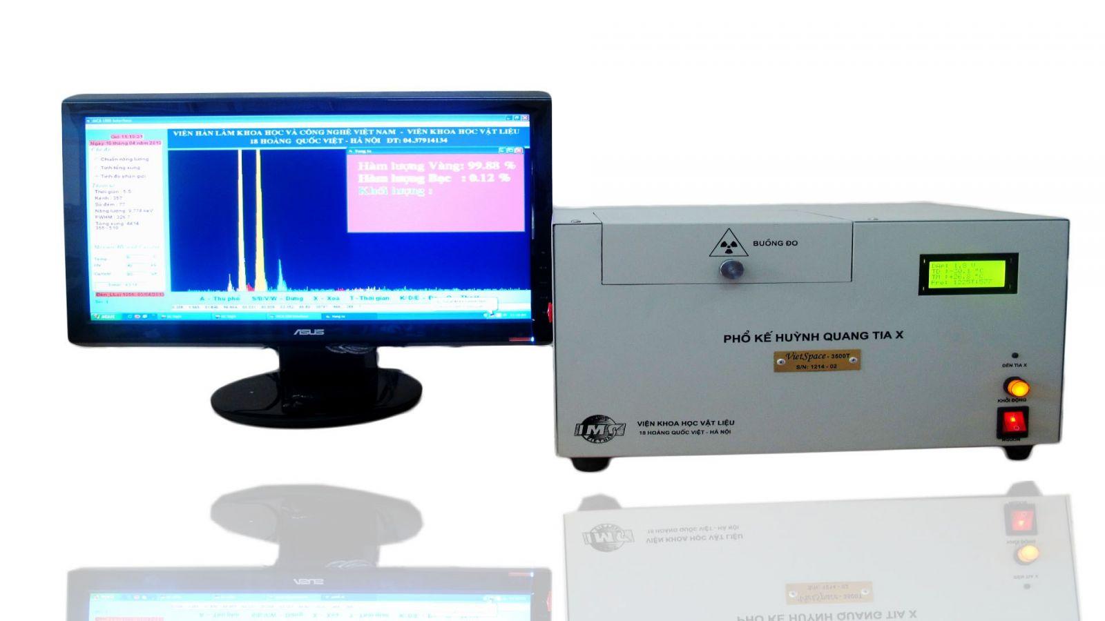 Máy phân tích thành phần kim loại quý VietSpace 3500T/ 4000