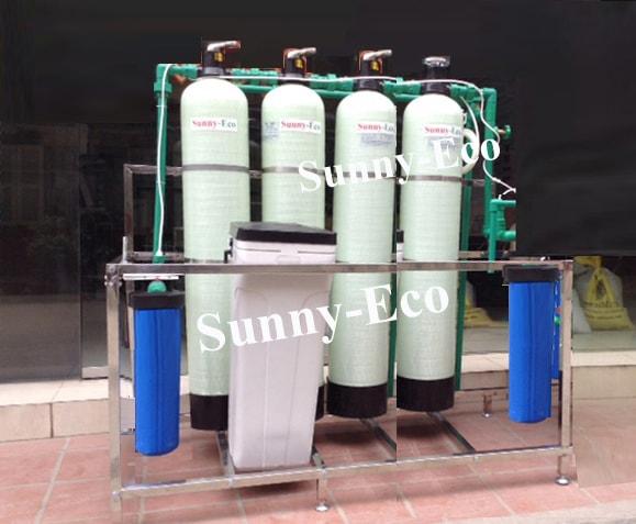 Hệ thống lọc nước cho khu biệt thự Sunny-Eco BT4C
