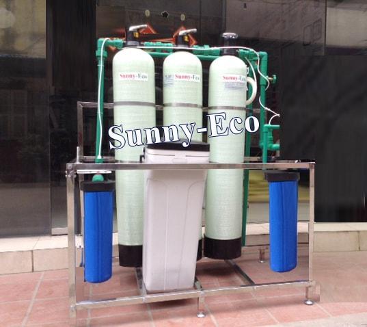 Hệ thống lọc nước sinh hoạt giếng khoan Sunny-Eco GK3C