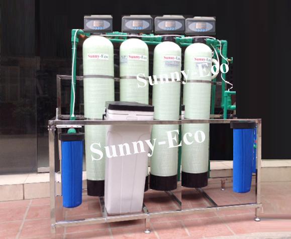 Hệ thống lọc nước sinh hoạt sử dụng van tự động Sunny-Eco