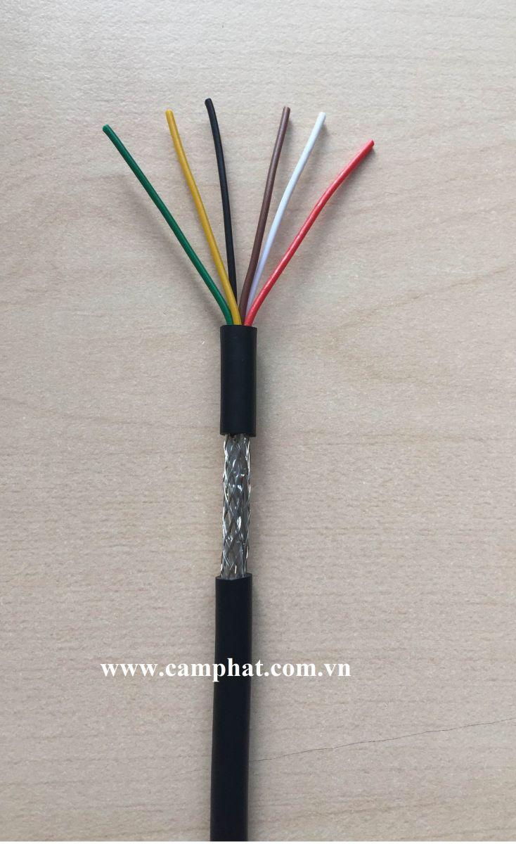 Cáp tín hiệu chống nhiễu 2,4,6,8C x 0.15mm2 / 0.22mm2
