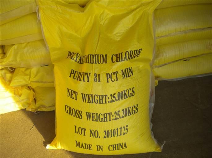 Hóa chất PAC - PAC-31% (bao vàng)