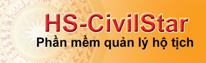 Phần mềm quản lý hộ tịch HS-CivilStar