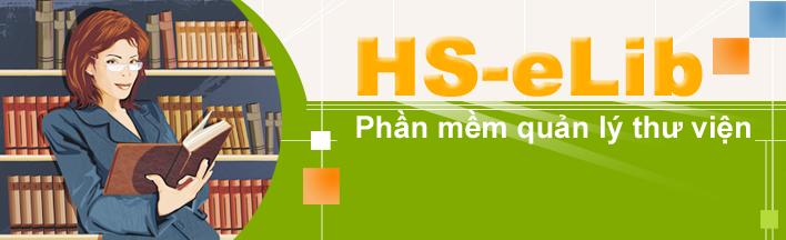 Phần mềm quản lý thư viện HS-eLib
