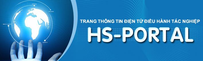 Trang thông tin điện tử điều hành tác nghiệp HS- Portal