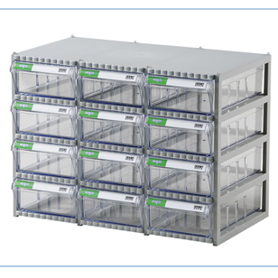 Tủ đựng linh kiện Hàn Quốc 12 ngăn CA507
