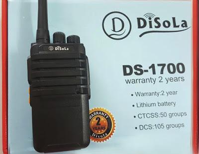 Máy bộ đàm Disola DS 1700 giá rẻ