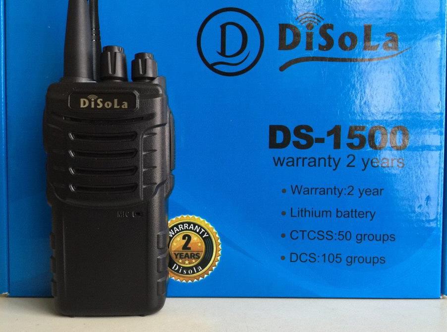 Máy bộ đàm Disola DS 1500 giá rẻ