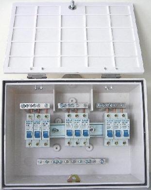 Hộp phân phối, loại 9 MCB & 6 MCB 1 Pha