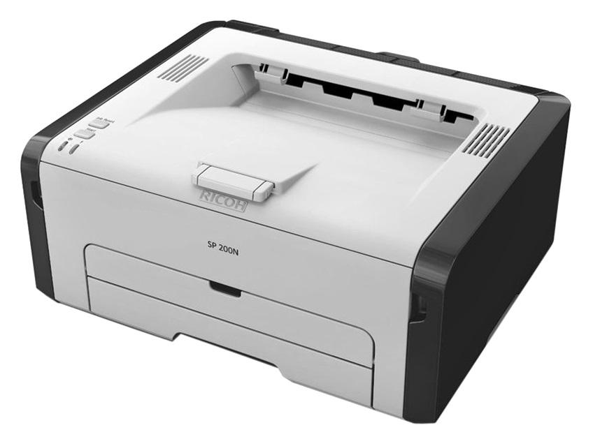 Máy in laser đen trắng giá rẻ Ricoh SP 200N