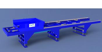 Băng chuyền Pallet trong dây chuyền sản xuất gạch DmCline.