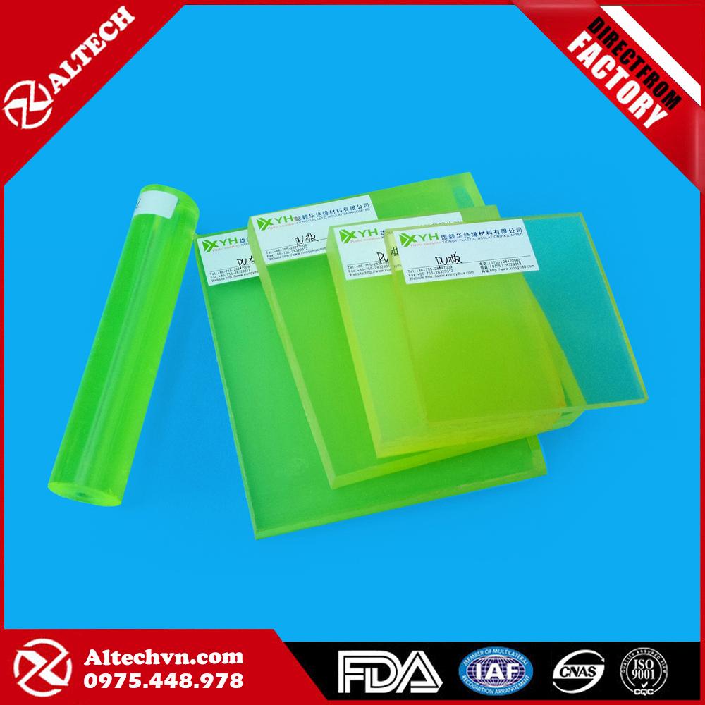 Tấm nhựa PU - Cây nhựa PU
